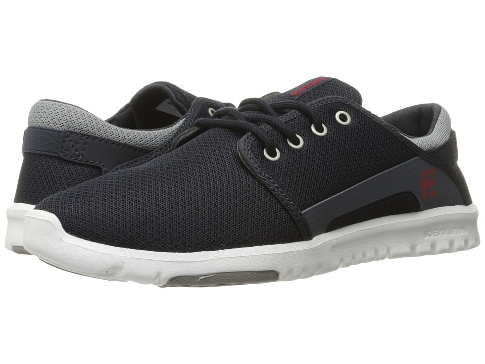 etnies - Scout (Navy/Grey/Red) Mens Skate Shoes