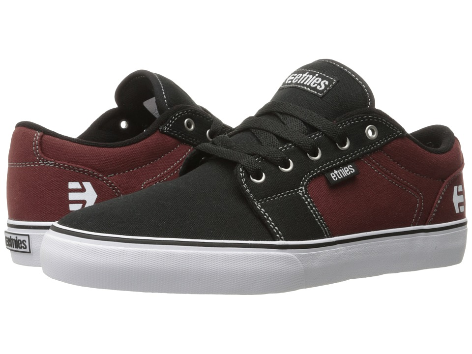 etnies Barge LS (Black/Red/Black) Men