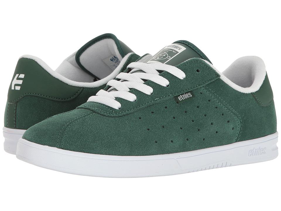 etnies - The Scam (Hunter Green) Mens Skate Shoes