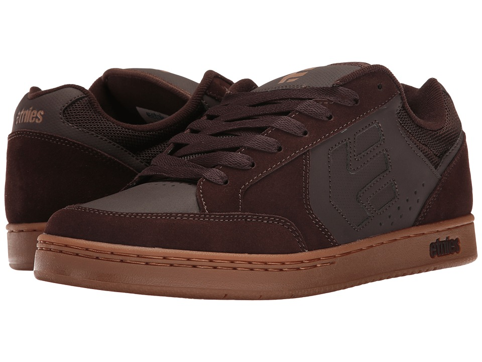 etnies - Swivel (Brown/Gum) Mens Skate Shoes