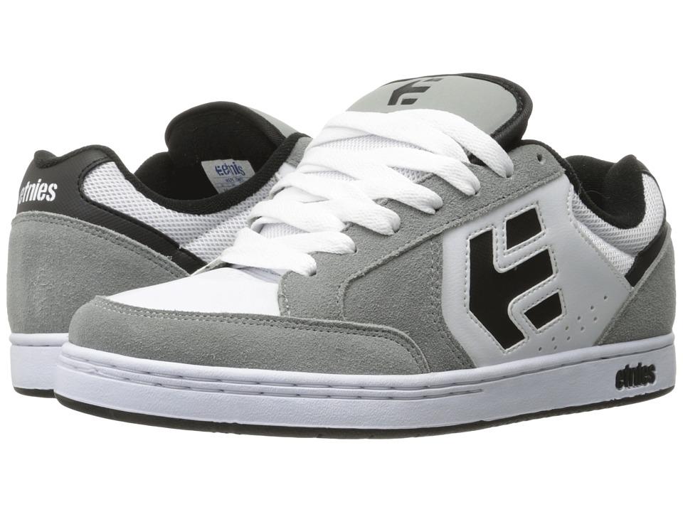 etnies - Swivel (Grey/White) Mens Skate Shoes