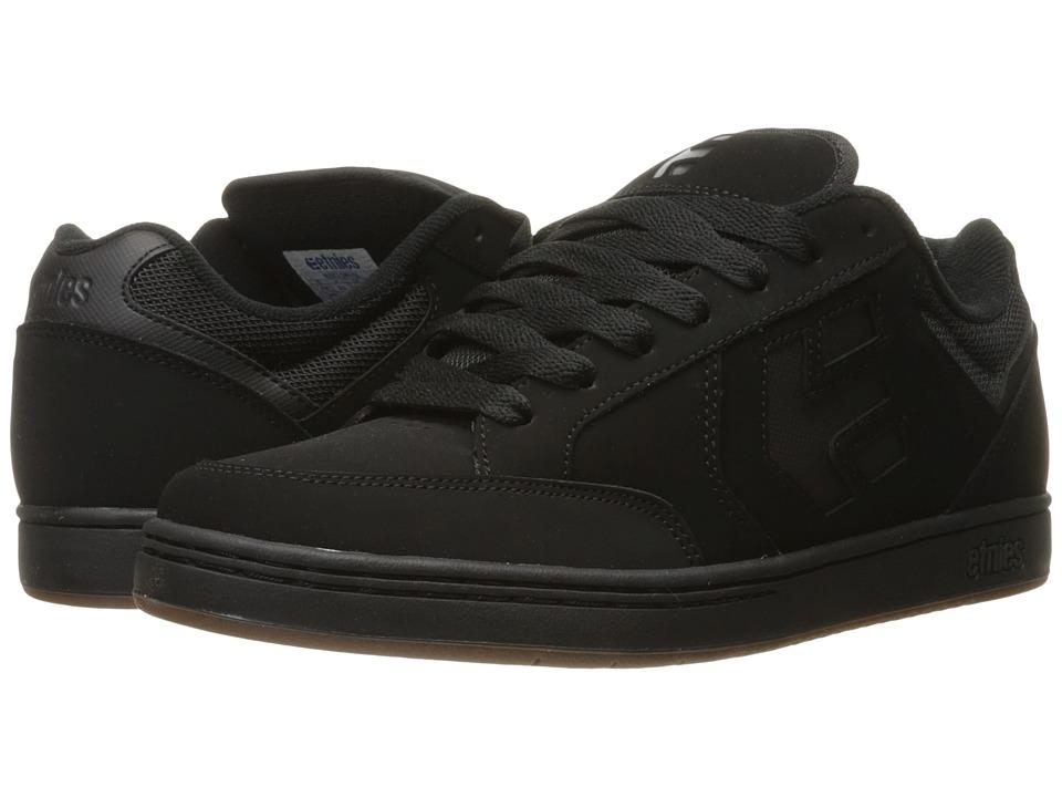 etnies - Swivel (Black/Black/Gum) Mens Skate Shoes