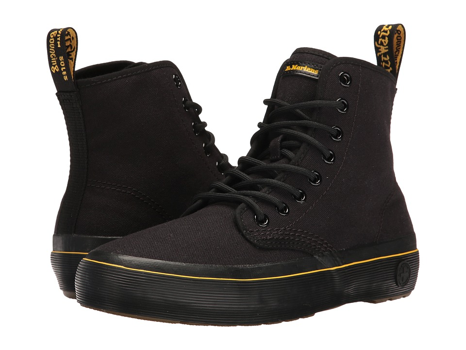 Dr. Martens Monet (Black Canvas) Women
