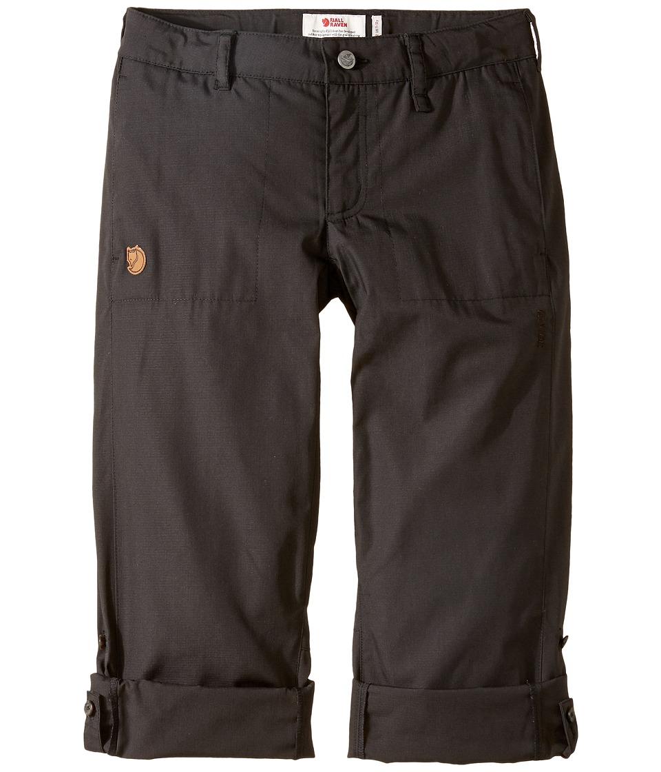 Fjallraven Kids - Abisko Shade Trousers (Little Kids/Big Kids) (Dark Grey) Boys Casual Pants