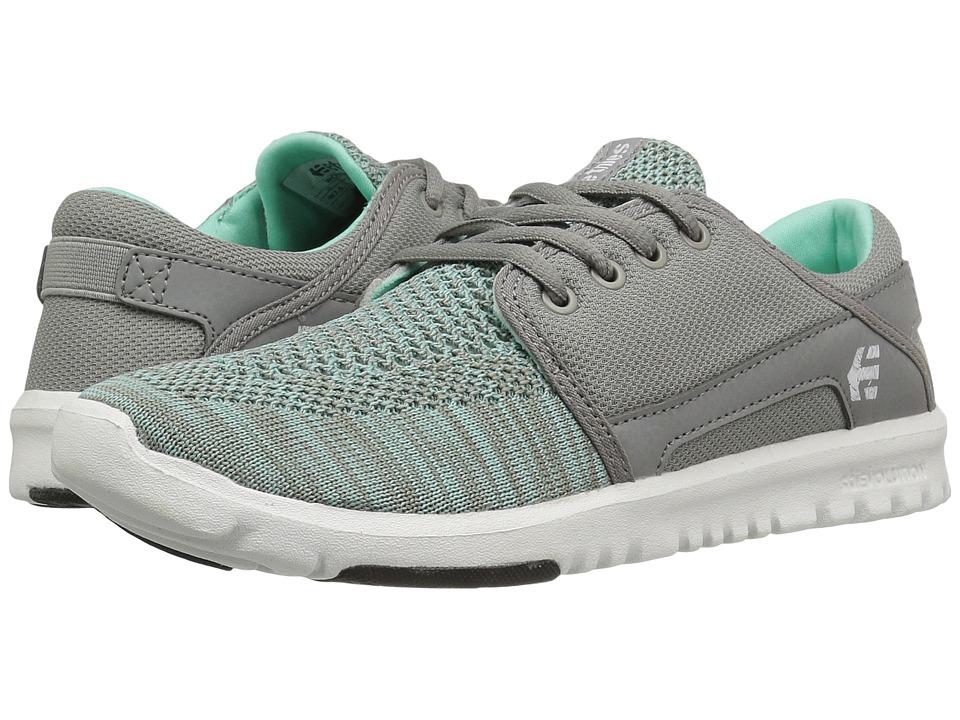 etnies - Scout YB (Grey) Womens Skate Shoes