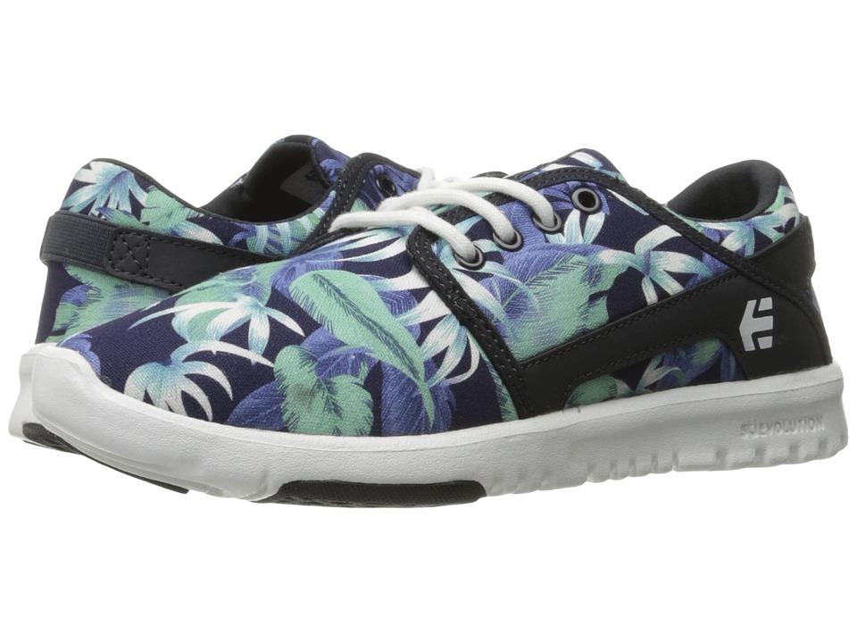 Etnies Scout W (Blue/White/Navy) Women's Skate Shoes