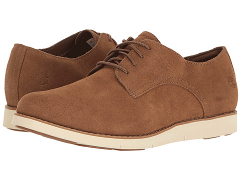 Timberland Lakeville Oxford - Medium Brown Suede
