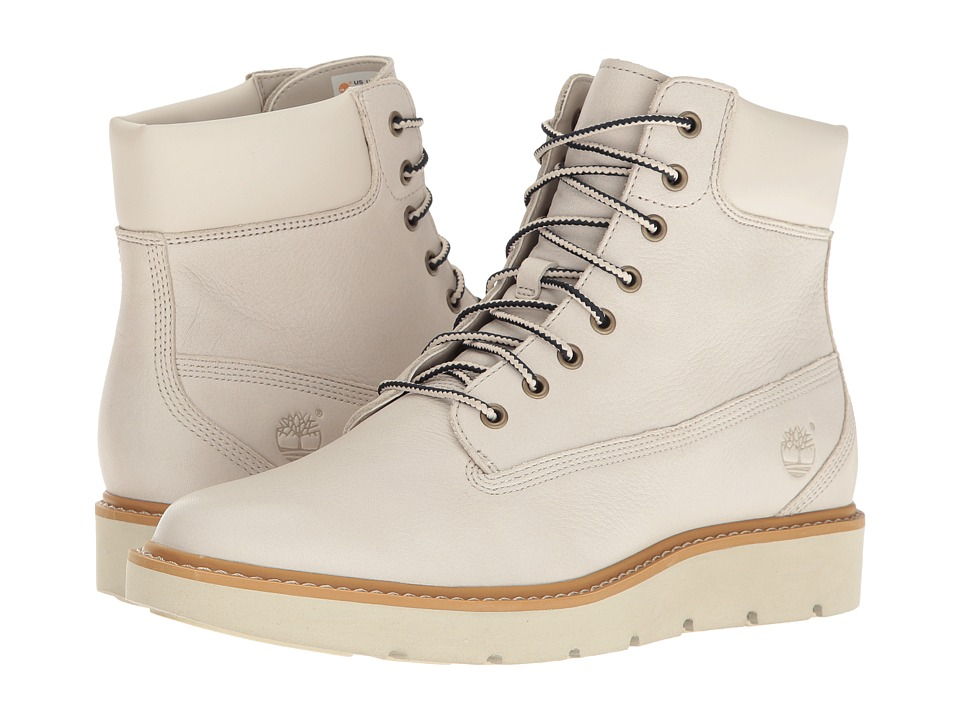 Timberland Kenniston 6 Lace-Up Boot (White Full Grain) Women