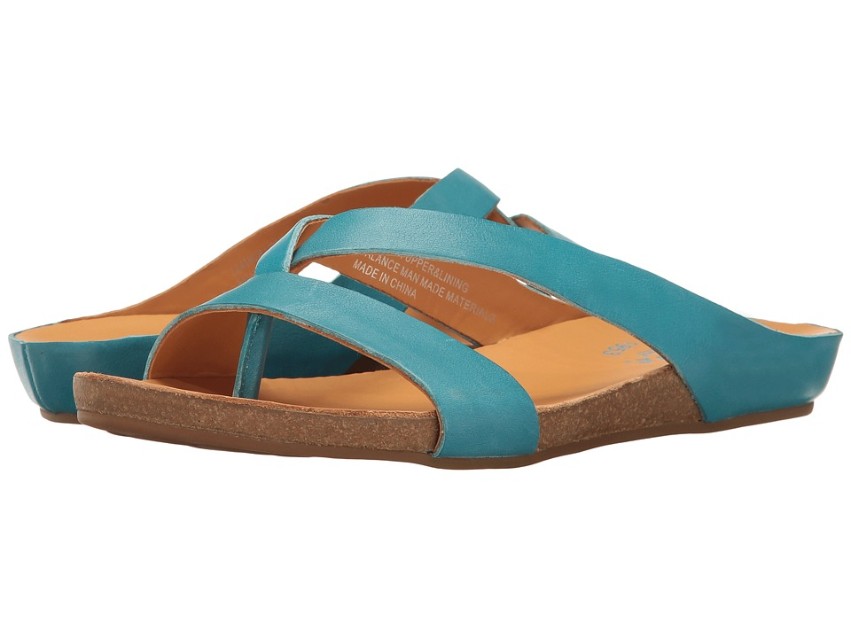 Kork-Ease Devoe (Turquoise Full Grain) Women