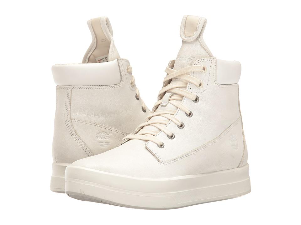 Timberland Mayliss 6 Boot (White Full Grain) Women