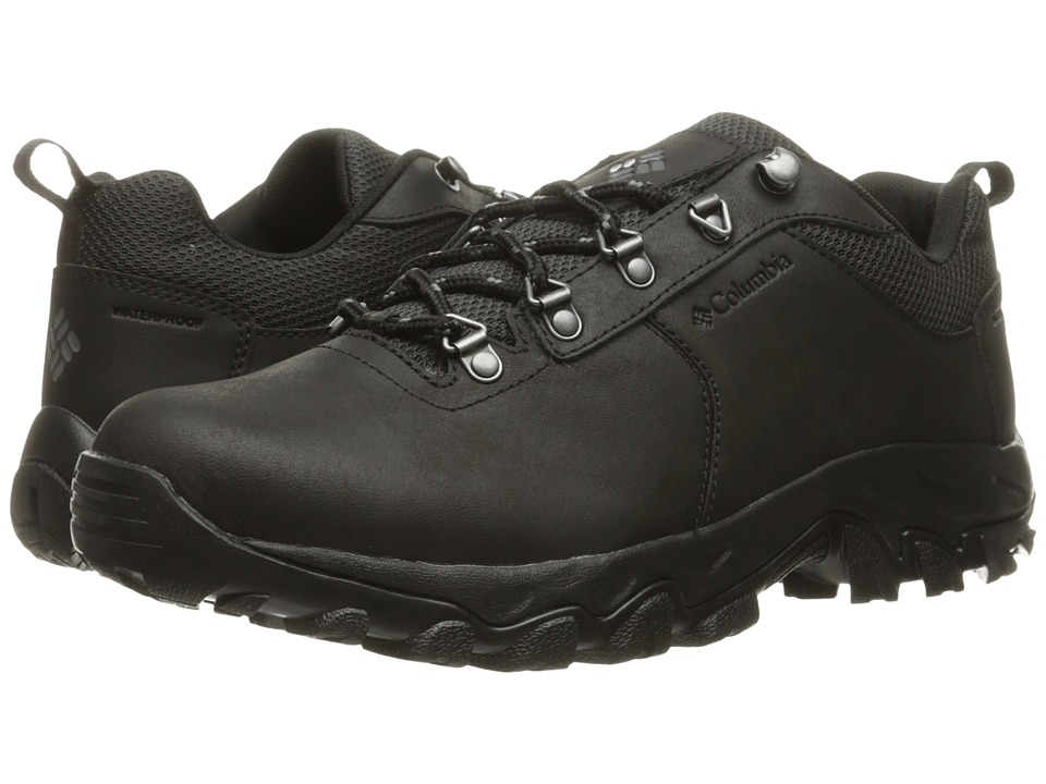 Columbia Newton Ridge Plus Low Waterproof (Black/Charcoal) Men