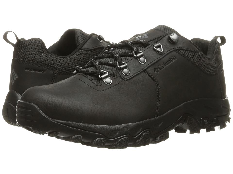 Columbia Newton Ridge Plus Low Waterproof (Black/Charcoal) Men