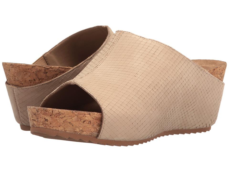 Walking Cradles Tiegan (Light Taupe Snake Nubuck) Sandals