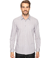 Kenneth Cole Sportswear - Long Sleeve Slim Dot Print