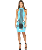 Jeremy Scott - Intarsia Knit Guitar Dress