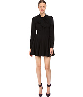 Jeremy Scott - Tie-Neck Long Sleeve Dress