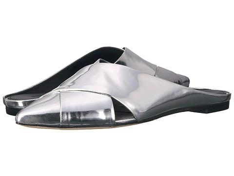 Sigerson Morrison Sheldon - Silver Specchio Mirror Leather