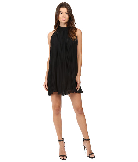 Brigitte Bailey Neri High Neck Accordion Dress