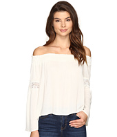 Brigitte Bailey - Sula Off the Shoulder Top with Lace Inset