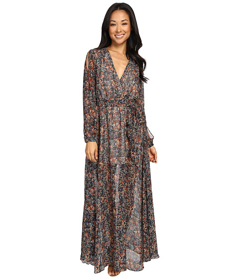 Brigitte Bailey Maelys Cold Shoulder Maxi Dress