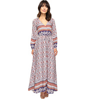 Brigitte Bailey - Ravenna Long Sleeve V-Neck Maxi Dress