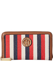 Tommy Hilfiger - TH Serif Signature - Medium Zip Around