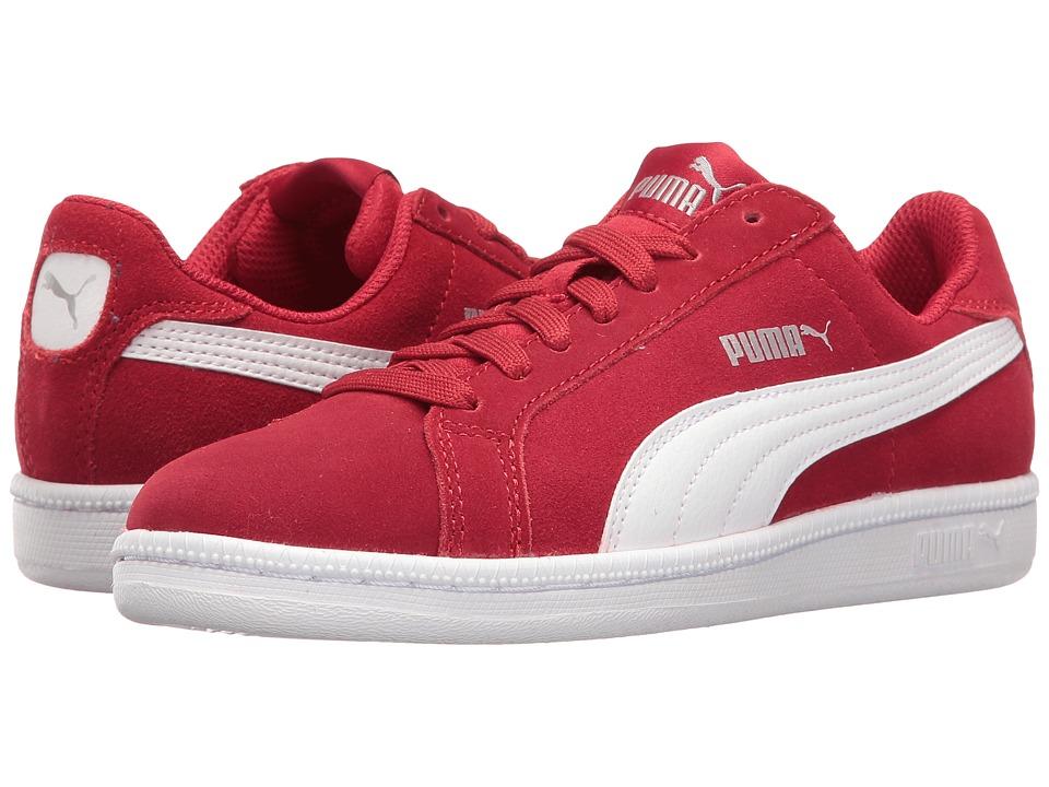 Puma Kids Smash Fun SD Jr (Big Kid) (Barbados Cherry/Puma White) Kids Shoes