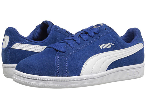 Puma Kids Smash Fun SD Jr (Big Kid) - True Blue/Puma White