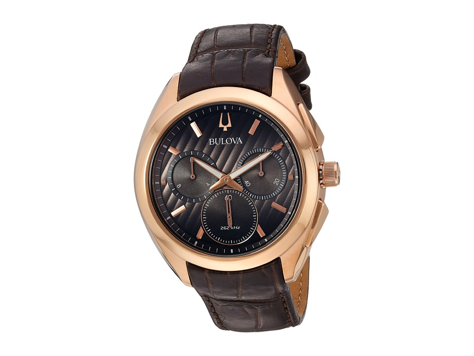 BULOVA Curv - 97A124 (Stainless Steel/Rose Gold) Watches