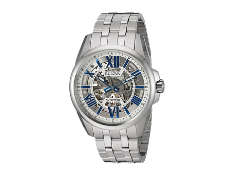 Bulova Automatic - 96A187 - Stainless Steel