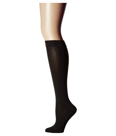 Falke #1 Lurex Cashmere Knee High (Luxury) - Black