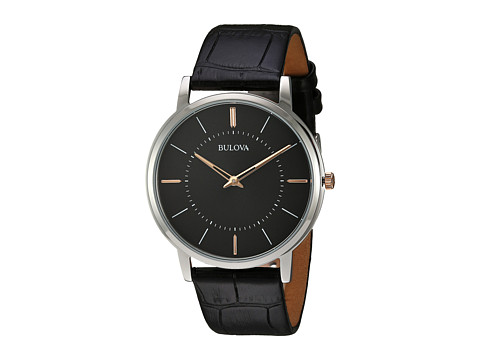 Bulova Classic - 98A167 - Black/Stainless Steel