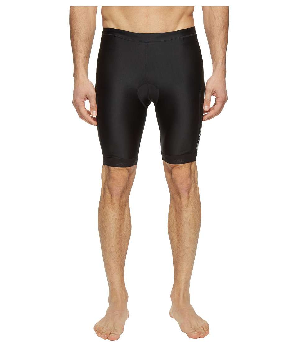 2XU X-Vent 9 Tri Shorts (Black/Black) Men
