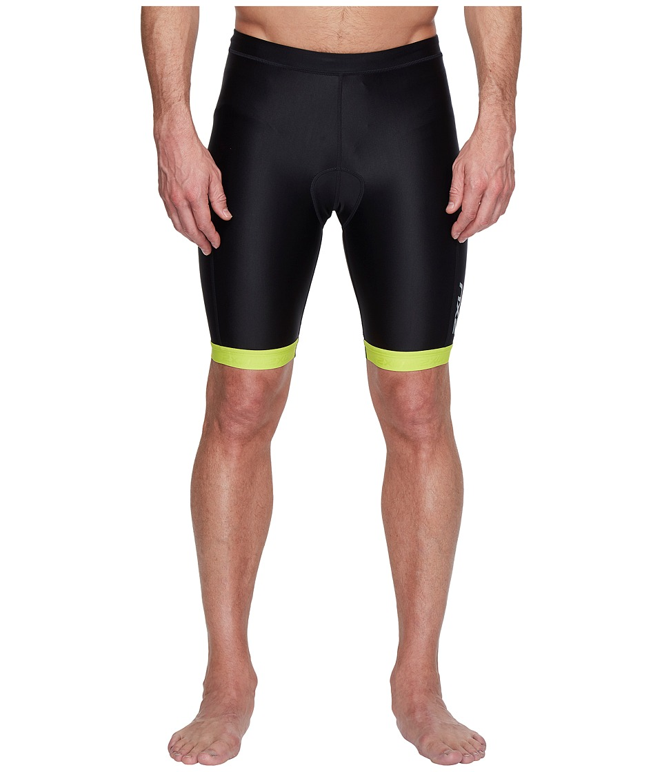 2XU X-Vent 9 Tri Shorts (Black/Lime Punch) Men