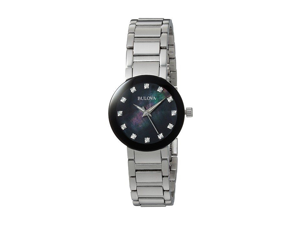 BULOVA Diamonds - 96P172 (Stainless Steel/Mother-of-Pearl...