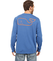 Vineyard Vines - Long Sleeve Vintage Whale Pocket Tee