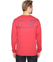 Vineyard Vines - Long Sleeve Vintage Whale Heather Pocket T-Shirt