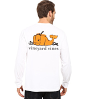 Vineyard Vines - Long Sleeve Pumpkin Whale Pocket T-Shirt