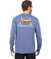 Vineyard Vines - Long Sleeve Touchdown Pocket T-Shirt