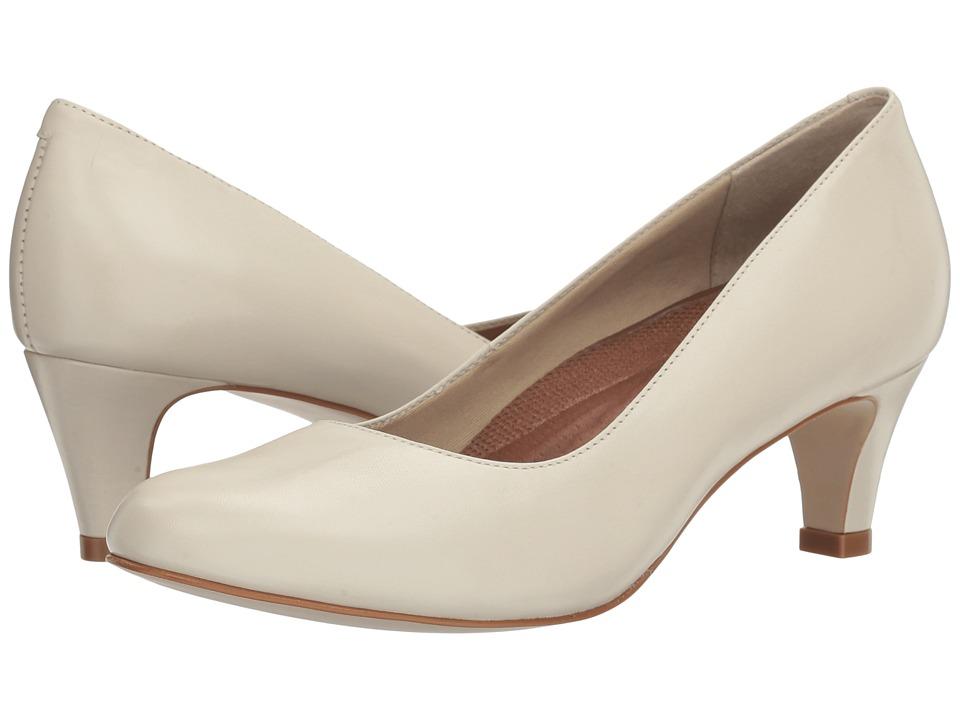 Vintage Wedding Shoes, Flats, Boots, Heels Walking Cradles - Joy Bone Cashmere Womens Shoes $95.00 AT vintagedancer.com