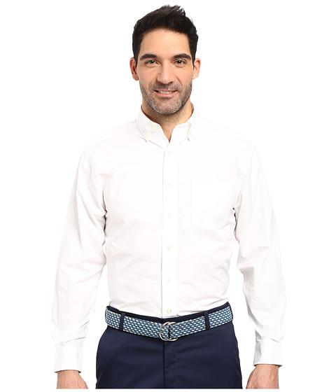 Vineyard Vines Solid Murray Shirt - White Cap