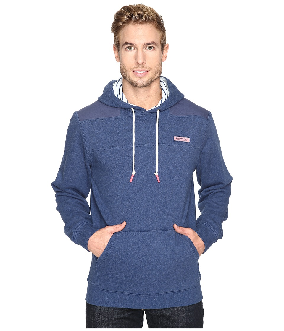Vineyard Vines Pullover Shep Shirt Hoodie (Deep Bay) Men