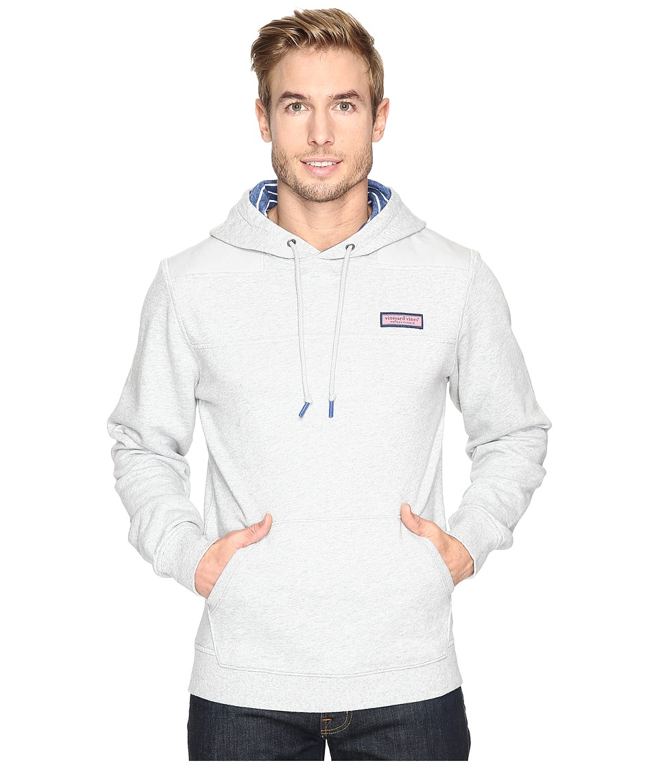 Vineyard Vines Pullover Shep Shirt Hoodie (Gray Heather) Men