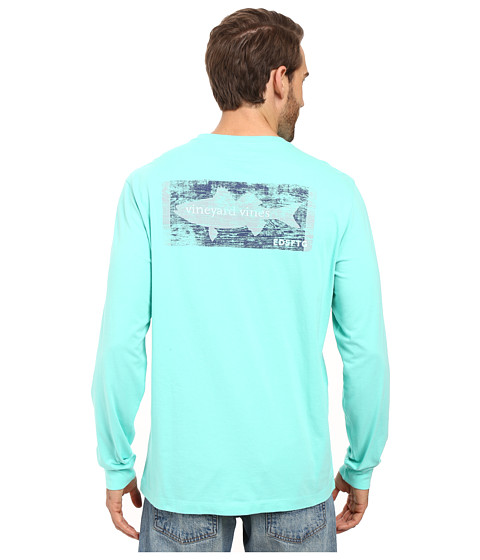 Vineyard Vines Long Sleeve Boathouse Sign T-Shirt