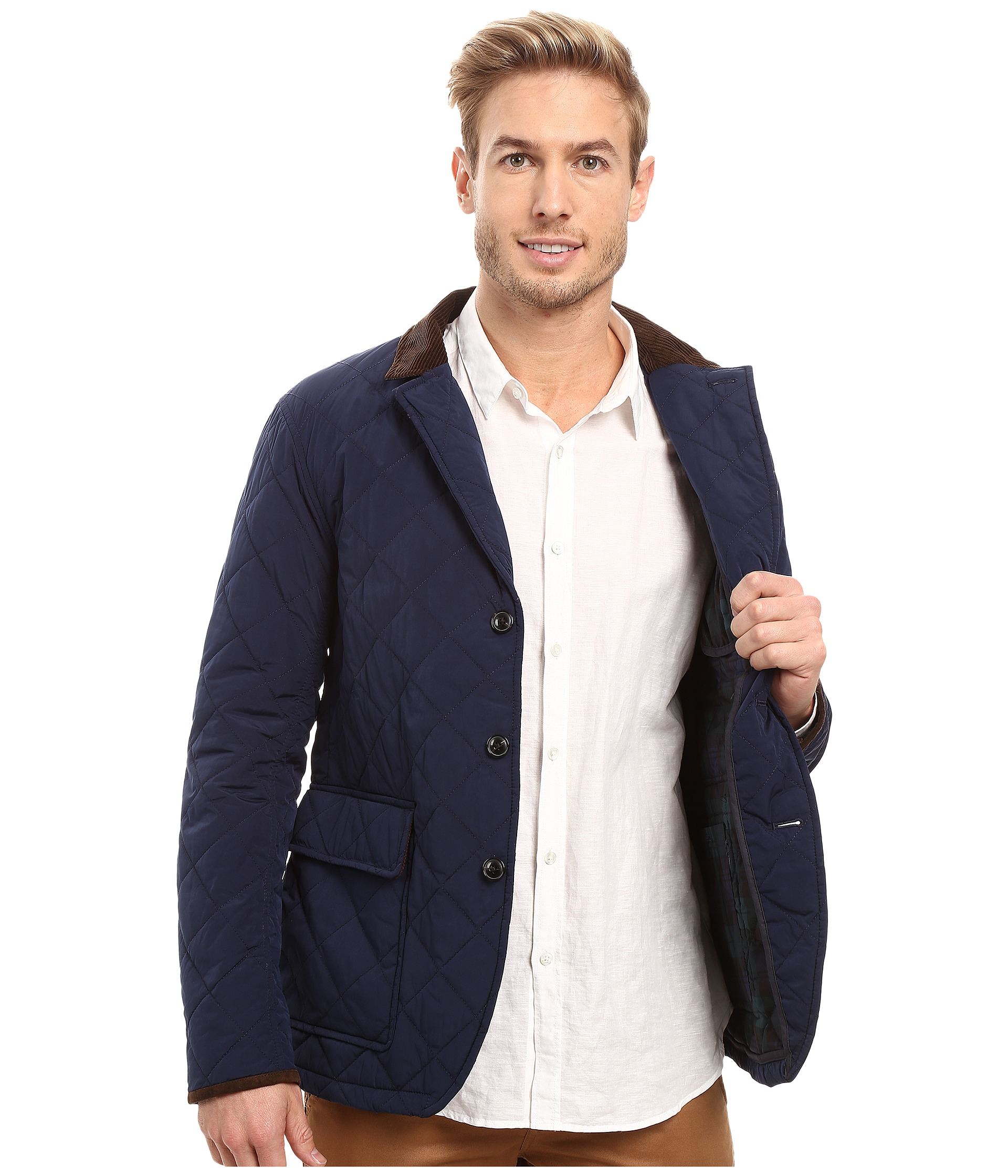Vineyard Vines Quilted Blazer Nautical Navy Zappos Com