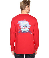 Vineyard Vines - Long Sleeve Santa Sportfishing T-Shirt