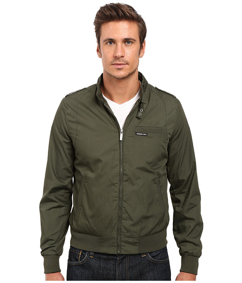 Members Only Iconic Racer Jacket - Green