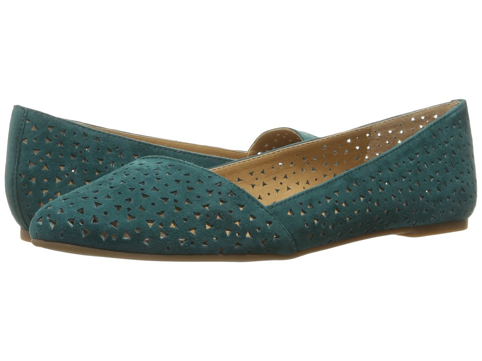 Lucky Brand Archh 2 (Dark Teal Kid Suede) Women