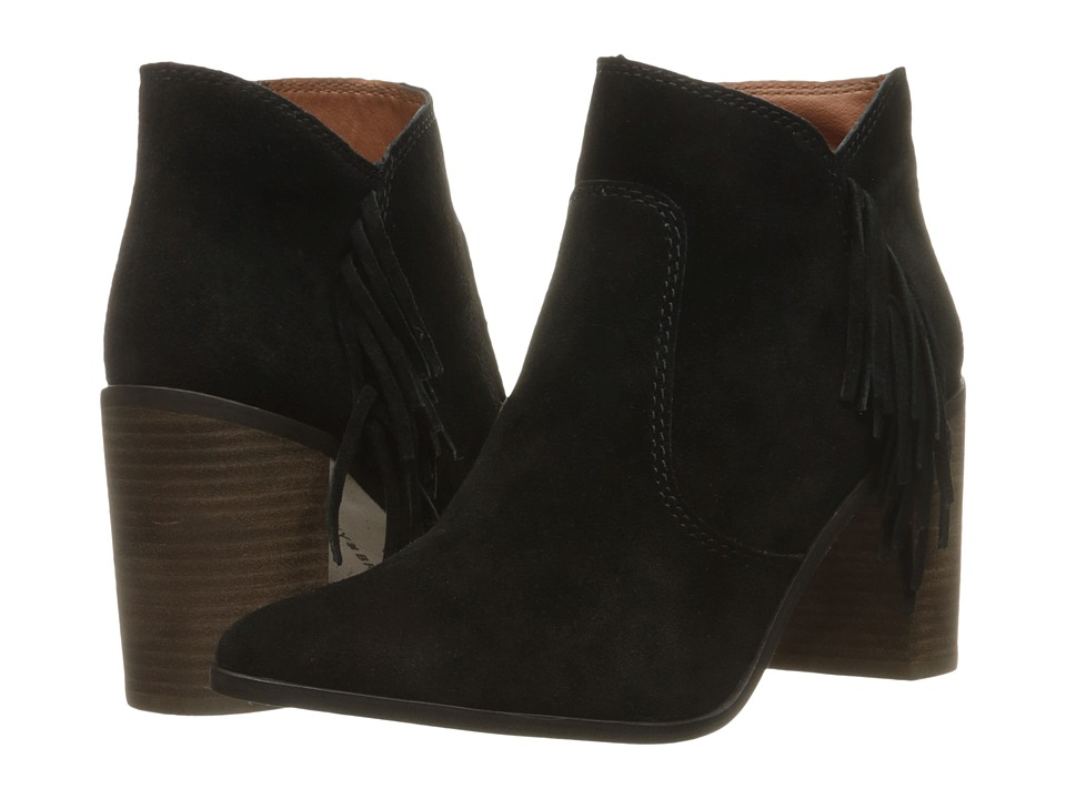 Lucky Brand Mercerr (Black Oiled Suede) Women
