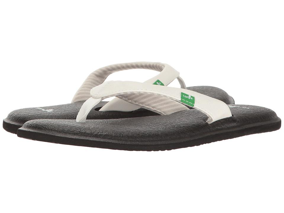 Sanuk Yoga Chakra (White) Sandals